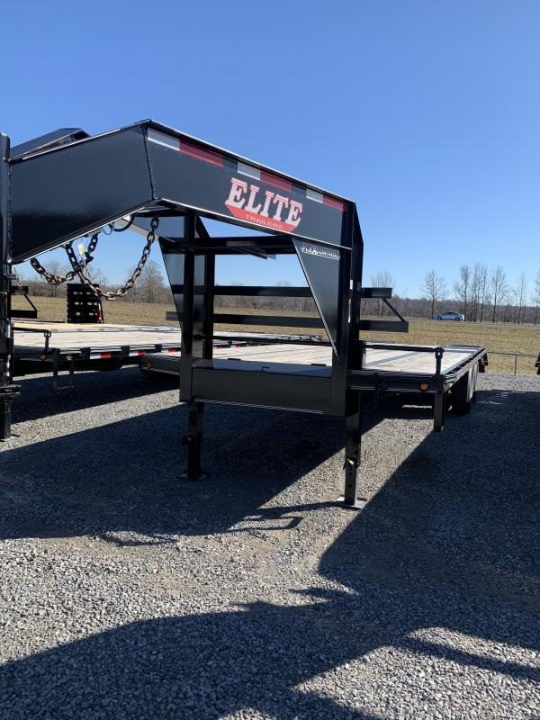 2019 Elite Trailers GN DOVETAIL-25 Farm / Ranch