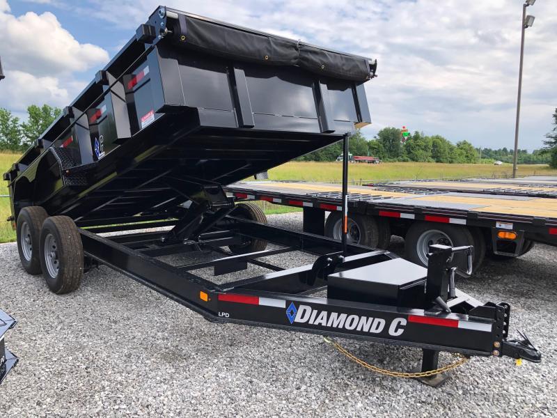 2019 Diamond C Trailers Low Pro Dump 14x82 Dump Trailer