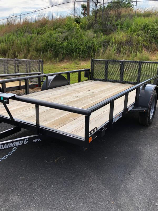 2019 Diamond C 2 PSA 12x77 Utility Trailer