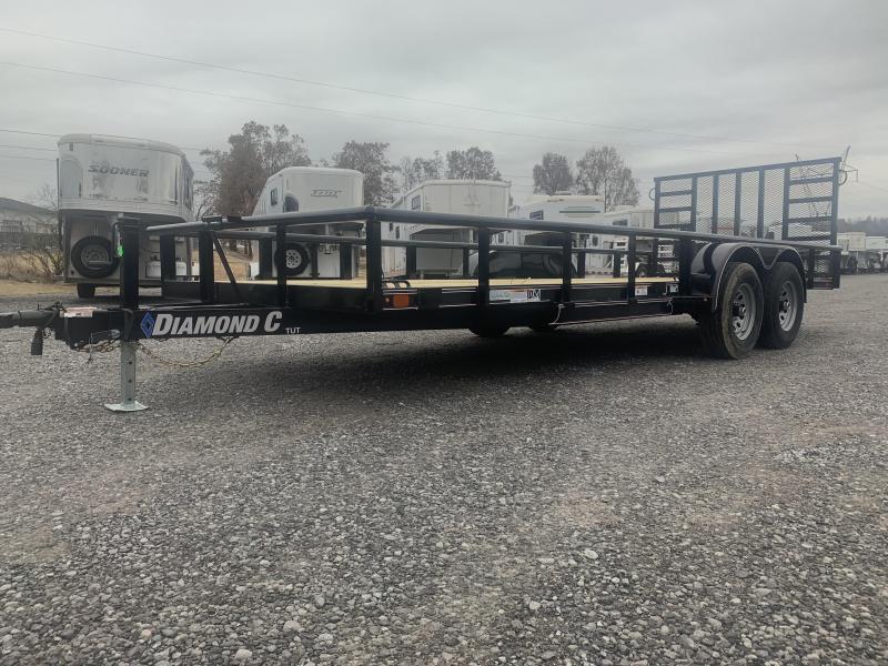 2020 Diamond C Trailers TUT252L20X82 Farm / Ranch