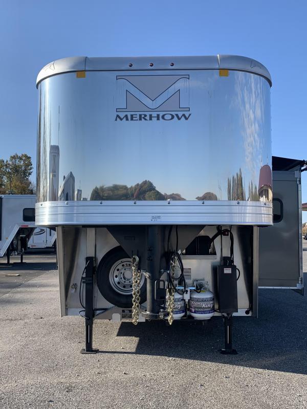 2020 Merhow Trailers 8313 RW-S Horse Trailer