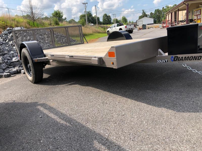 2019 Diamond C 33 UVT 12x83 Utility Trailer