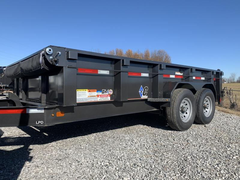 2019 Diamond C LPD 14x82 Dump Trailer