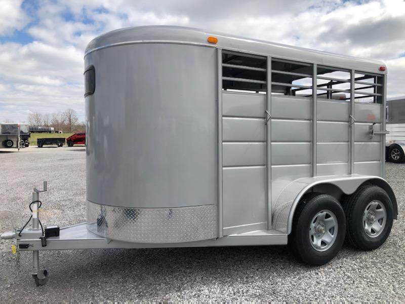 "2020 Calico Trailers 12x6x6'6"" BP Livestock Trailer"