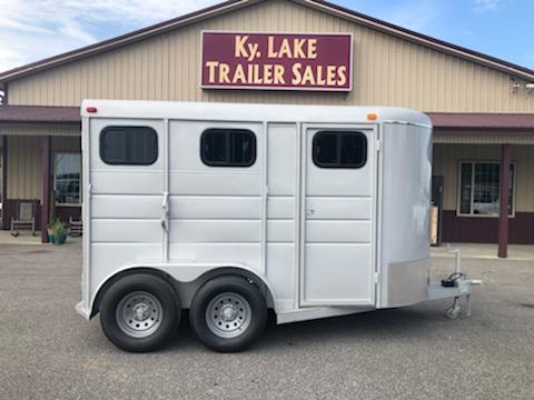 2019 Calico 2H BP Horse Trailer