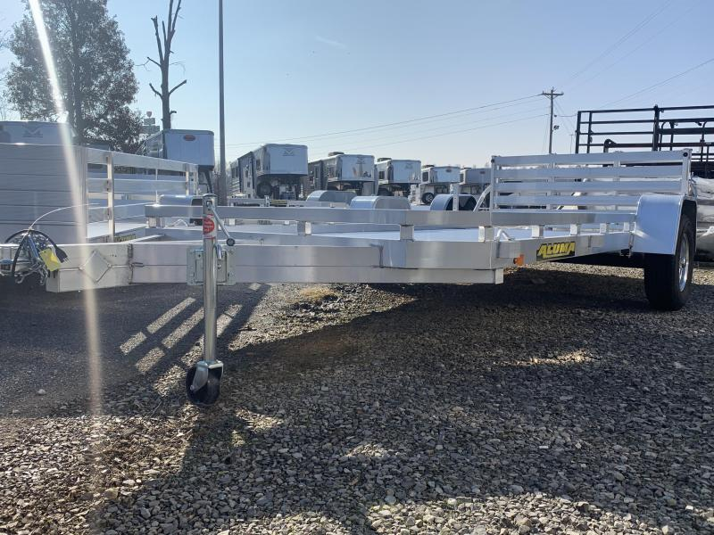 2020 Aluma 7814S-BT-TR Utility Trailer