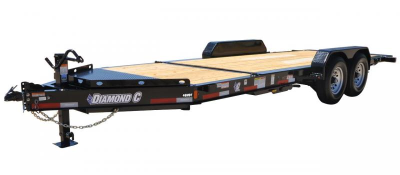 2020 Diamond C Trailers HDR207-22x82 Equipment Trailer