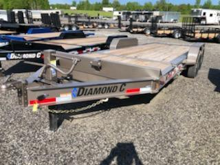 2020 Diamond C  HDT 207-20x82 Equipment Trailer