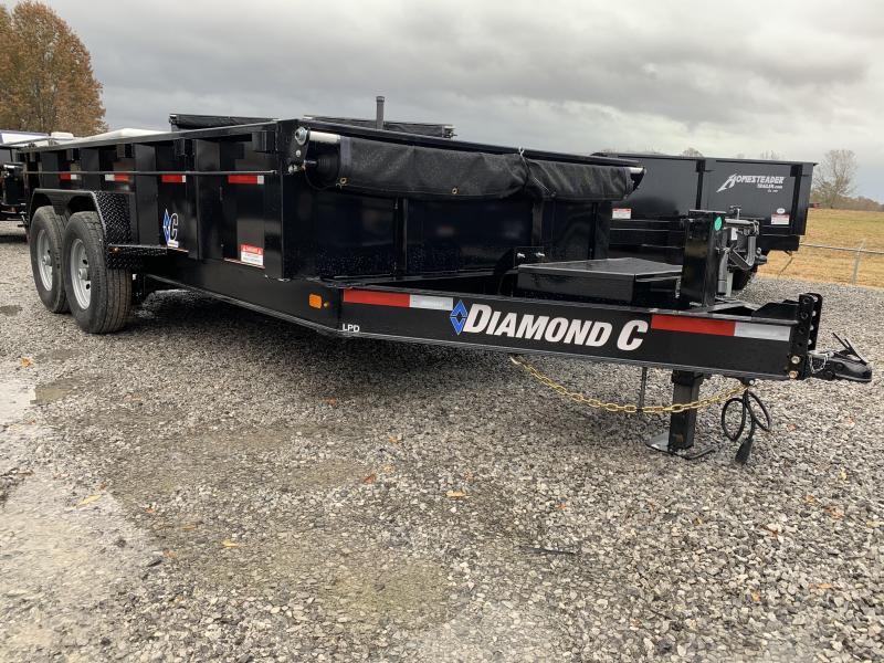 2019 Diamond C LPD 14x82 Dump Trailer