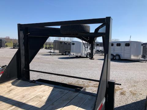 2015 Rice Trailers 20+2 GN Equipment Trailer