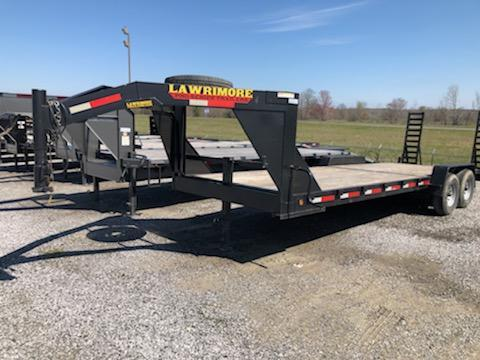 2014 Lawrimore 24x83 GN Equipment Trailer