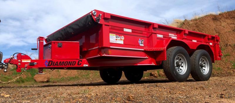 2020 Diamond C  EDM252 12x82 Dump Trailer