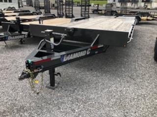 2019 Diamond C Trailers DEC 207 24x102 Equipment Trailer
