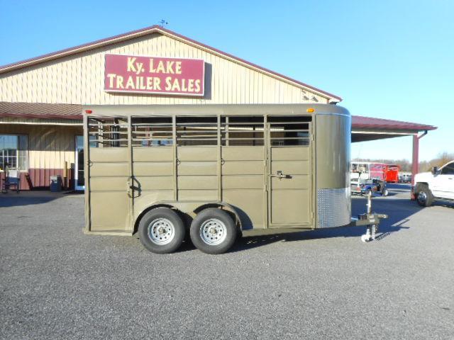 2019 Calico 16' BP Livestock Trailer