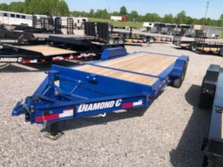 2020 Diamond C Trailers HDT207-20x82 Equipment Trailer