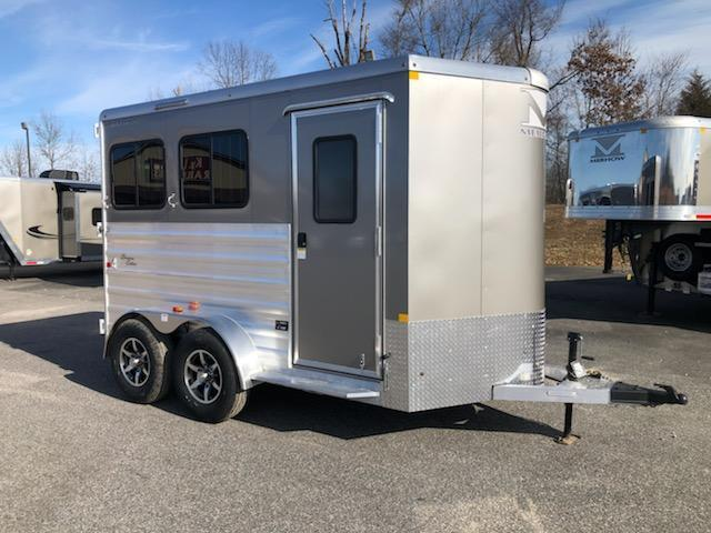 2020 Merhow Trailers Bronco 2H BP Horse Trailer