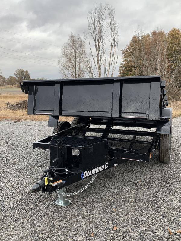 2019 Diamond C EDG 235 10x77 Dump Trailer