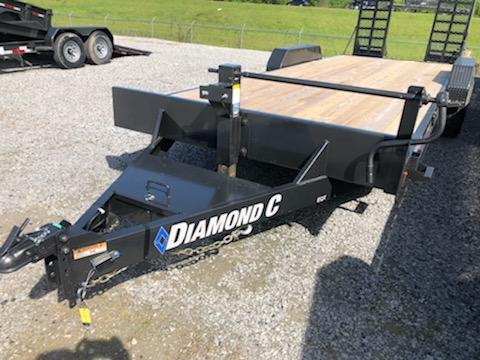 2020 Diamond C Trailers EQT207-22x82 Equipment Trailer
