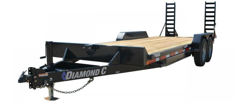 2020 Diamond C Trailers EQT207-22x82 Equipment Trailer