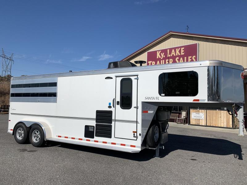 2020 Sundowner 6906 3H Santa Fe Horse Trailer