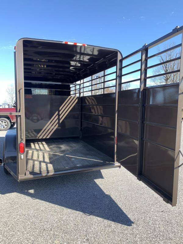 2020 Calico Trailers 16x6x7 BP Stock Livestock Trailer