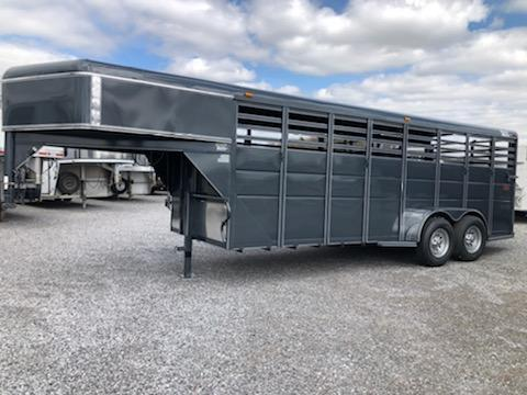 "2020 Ranch King 20x6'8""x6'6"" GN Stock Trailer"