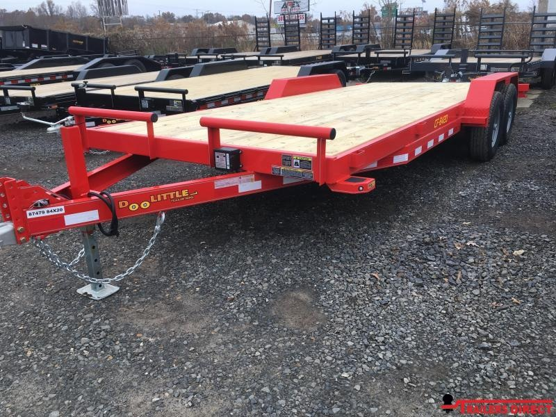 2020 DOOLITTLE Channel Flatbed 84X20 Self Store Ramps