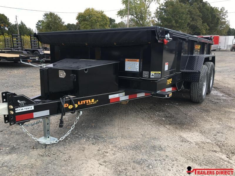 2020 Doolittle Trailer Mfg Masterdump 7200 Series 6 x 12 Tandem Axle 10K Dump Trailer
