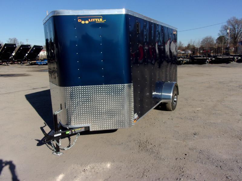 2020 Doolittle Trailer Mfg Bullitt 6' Wide Single Axle 3K Enclosed Cargo Trailer