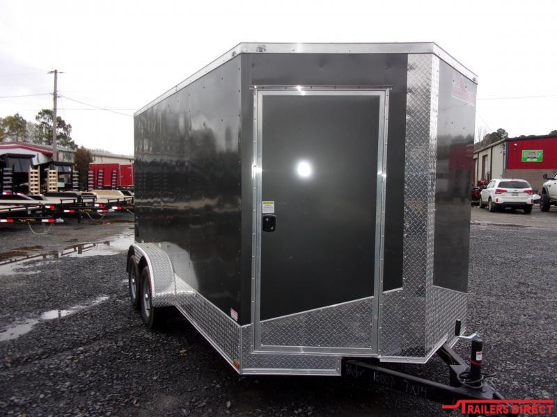 2020 Doolittle Trailer Mfg DOOLITTLE RAZORBACK 7X14 Enclosed Cargo Trailer