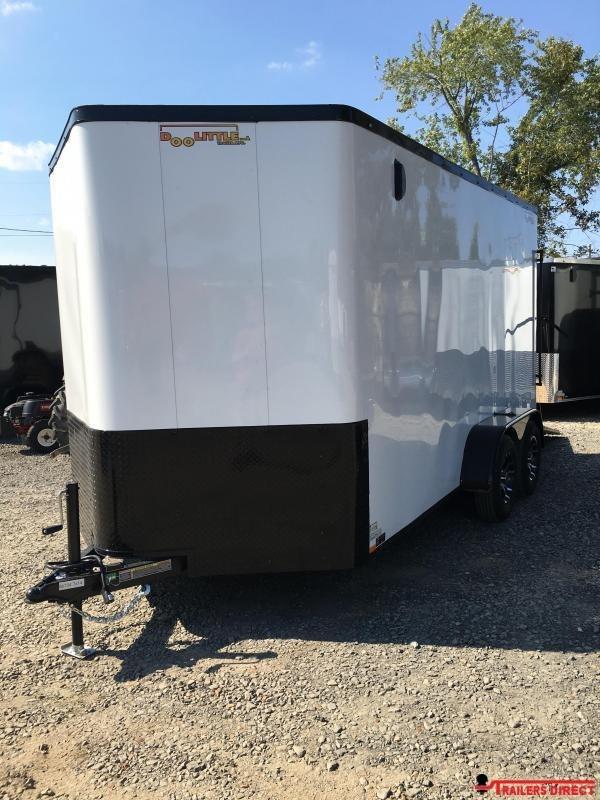 2020 Doolittle Trailer Mfg Cargomaster 7 Wide Tandem Axle 7K Enclosed Cargo Trailer