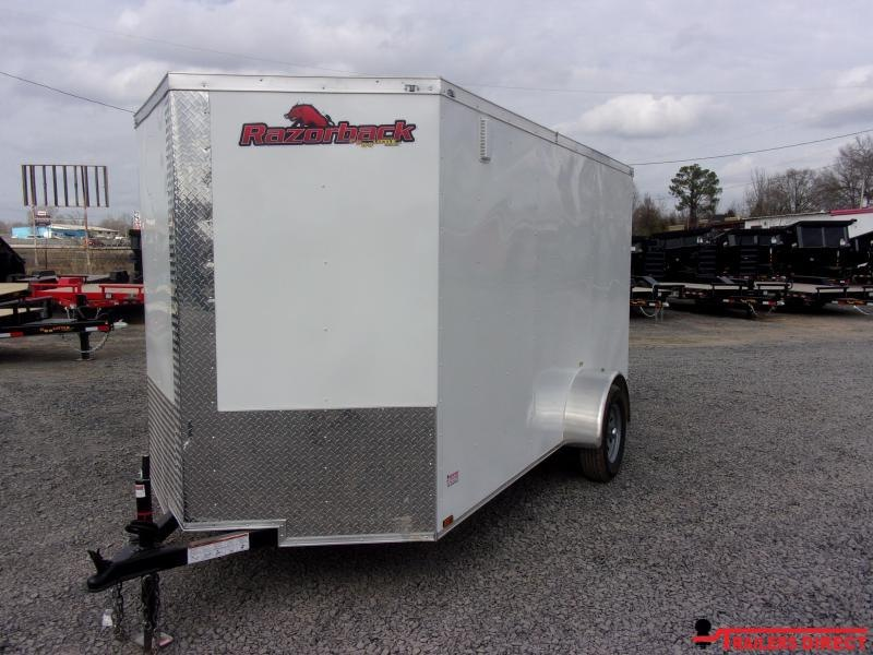 2020 Doolittle Trailer Mfg doolittle razorback 6' Wide Single Axle 3K Enclosed Cargo Trailer