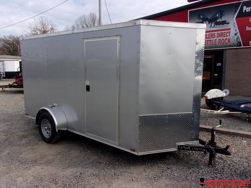 2020 Doolittle Trailer Mfg 6X12 RAZORBACK Enclosed Cargo Trailer