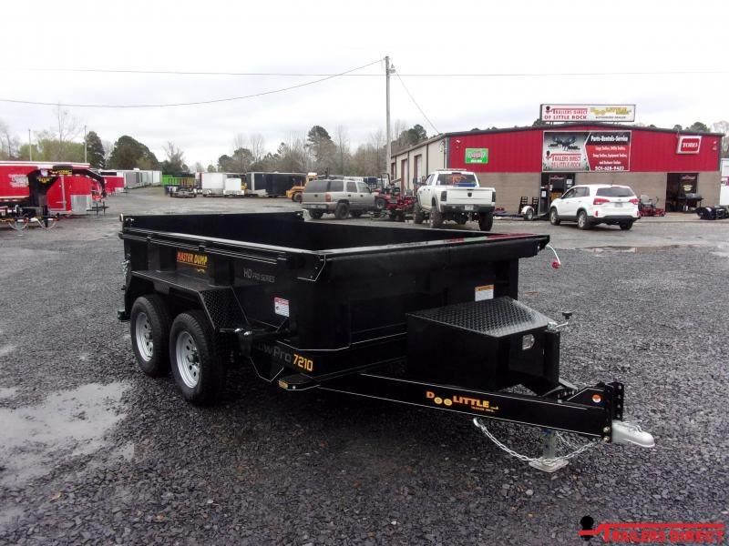 2020 Doolittle Trailer Mfg Masterdump 7200 Series 6 x 10 Tandem Axle 7K Dump Trailer