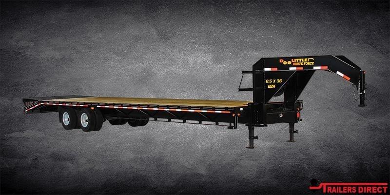 2020 Doolittle Trailer Mfg Brute Force Tandem Axle 14K Equipment Trailer