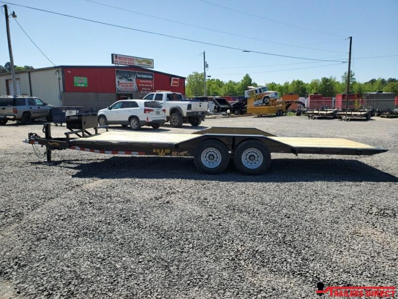 2020 Doolittle Trailer Mfg EZ Loader full tilt 14K Equipment Trailer