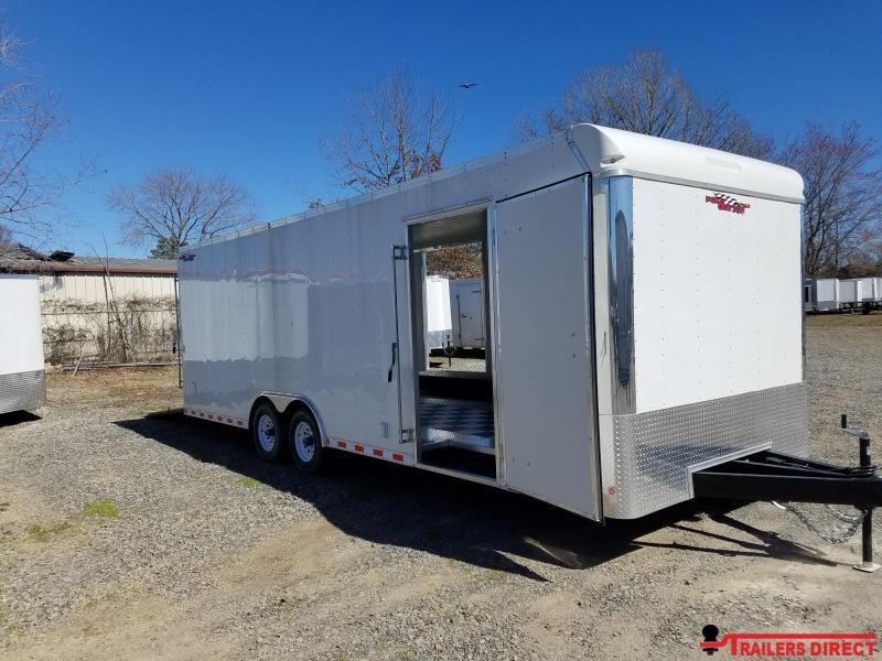 2018 Doolittle Trailer Mfg Cargomaster 8.5x24 10k Racing Trailer