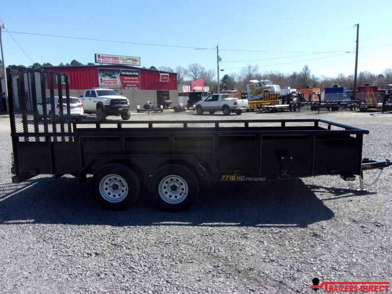 2020 Doolittle Trailer Mfg 770 Series Tandem Axle 7K Utility Trailer