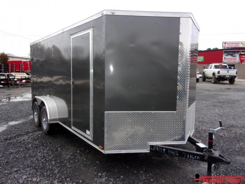2020 Doolittle Trailer Mfg DOOLITTLE RAZORBACK 7X16 Enclosed Cargo Trailer