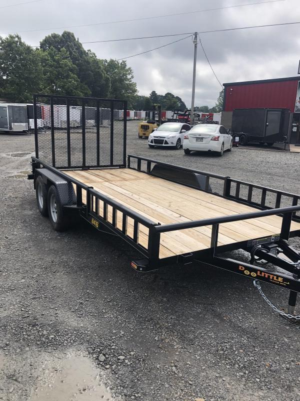 2019 Doolittle Trailer Mfg Doolittle Trailer Mfg 8416 Side Load ATV Trailer Utility Trailer