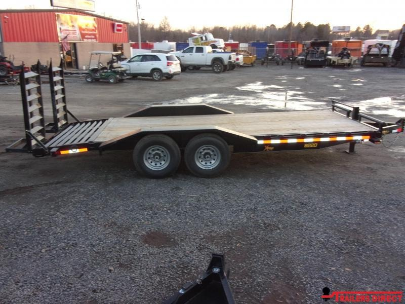 2020 Doolittle Trailer Mfg Xtreme 84' Wide 7K Equipment Trailer