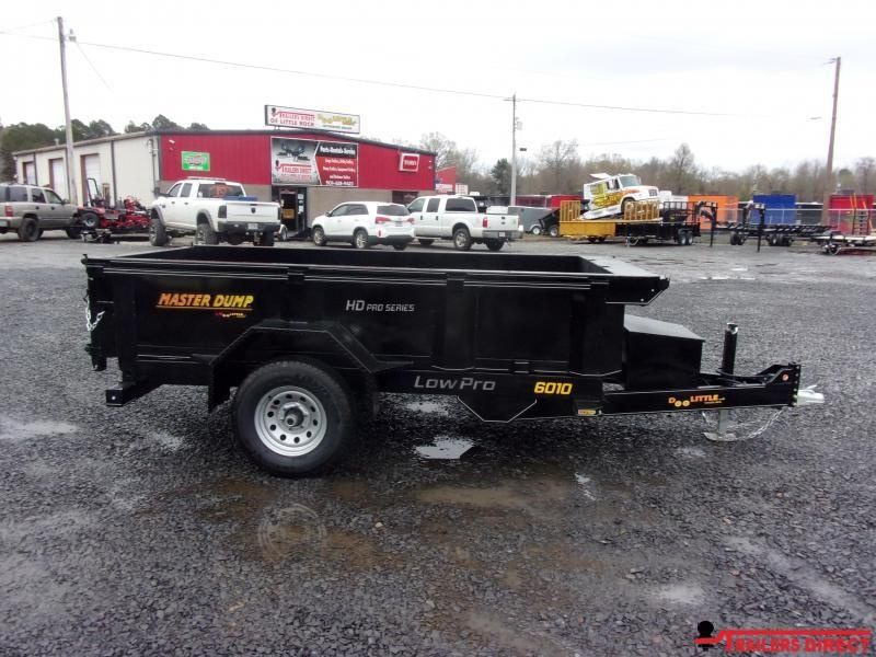 2020 Doolittle Trailer Mfg Masterdump 6000 Series 5 x 10 Single Axle 5.2K Dump Trailer