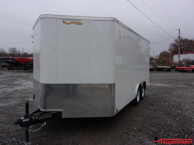 2020 Doolittle Trailer Mfg BULLITT 8.5X16 Enclosed Cargo Trailer
