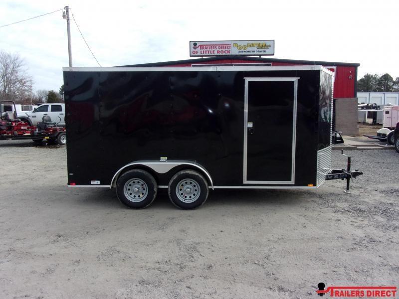 2020 Doolittle Trailer Mfg 7X14 RAZORBACK Enclosed Cargo Trailer