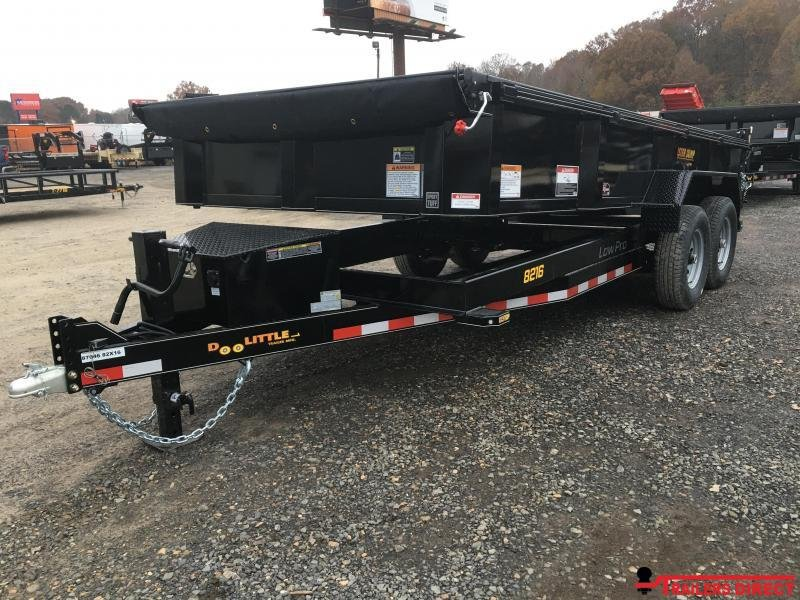 "2020 Doolittle Trailer Mfg Masterdump 8200 Series 82"" x 16 Tandem Axle 14K Dump Trailer"