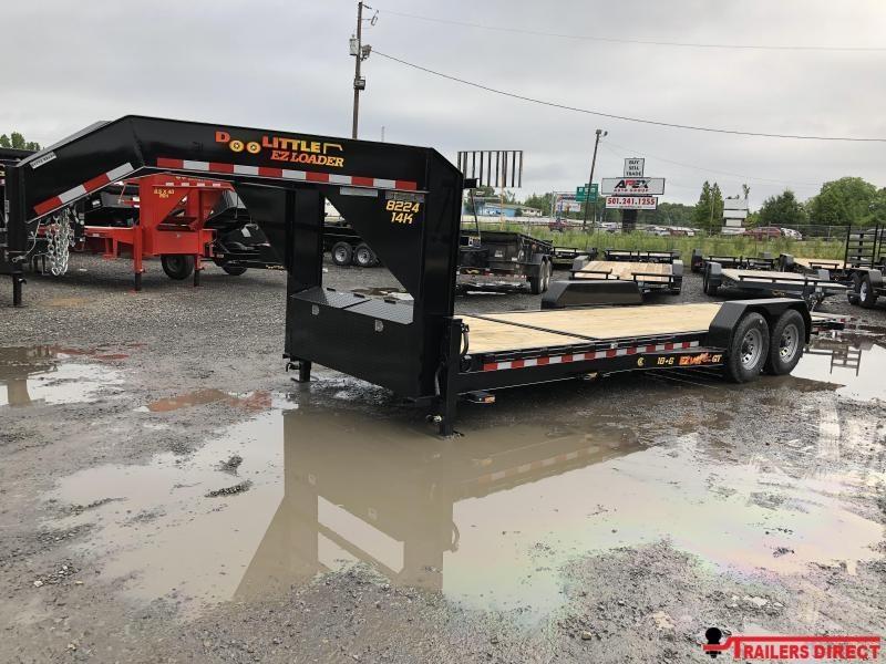 2019 Doolittle Trailer Mfg Doolittle GT EZ Loader 82x24 (186) 14K GVWR Equipment Trailer