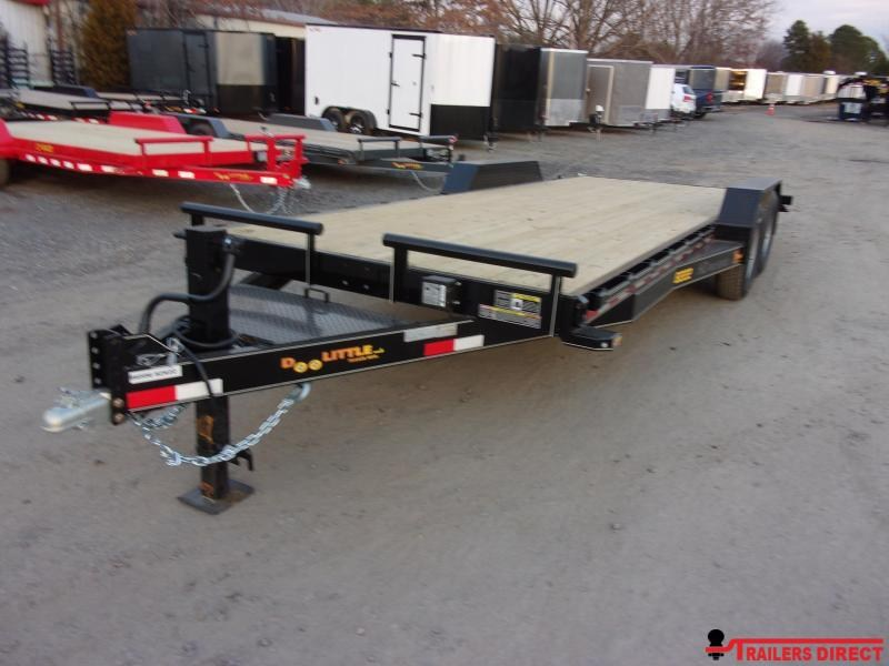 2020 Doolittle Trailer Mfg Xtreme 82 Wide 14K Equipment Trailer