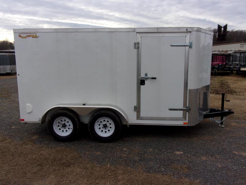 2020 Doolittle Trailer Mfg Bullitt 6' Wide Tandem Axle 7K Enclosed Cargo Trailer