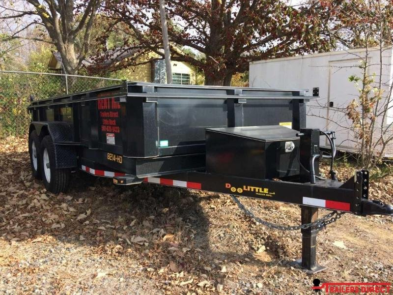 2017 Doolittle Trailer Mfg Masterdump 82x14 14K GVWR Dump Trailer