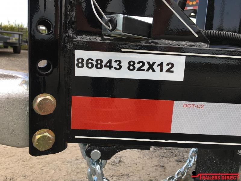 2020 Doolittle Trailer Mfg Masterdump 8200 Series 82 x 12 Tandem Axle 14K Dump Trailer